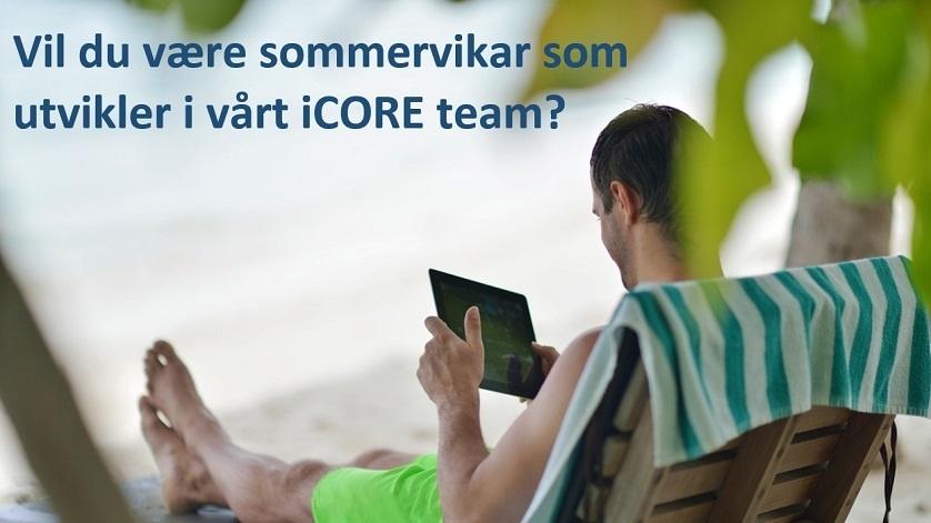 Sommerjobb i iCORE-teamet
